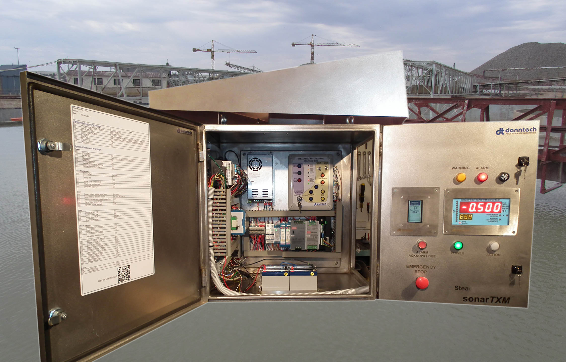 Smart-Level Controller Left Side View With Doors Open